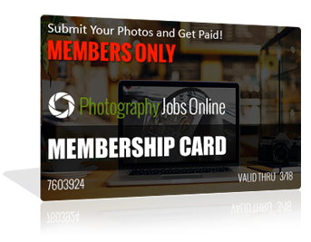 photography jobs membership card
